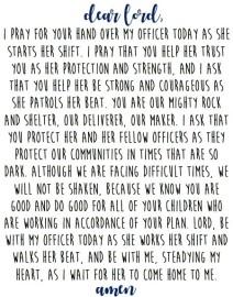 Police Wife Prayer